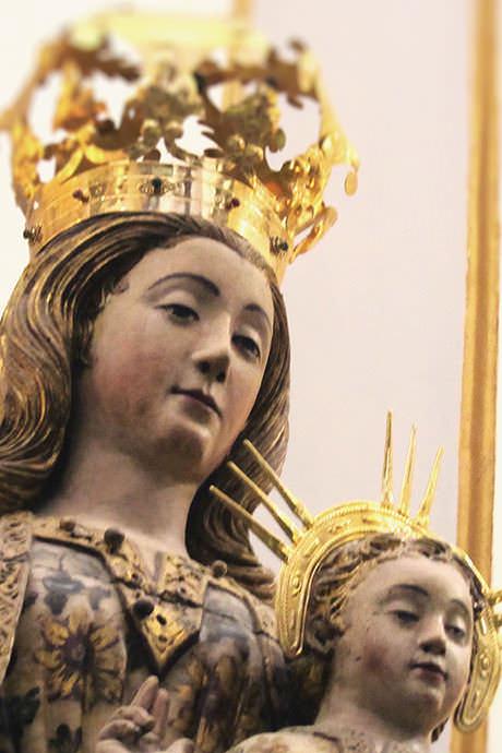 Virgen Del Coro De La Cadira Catedral De Valencia