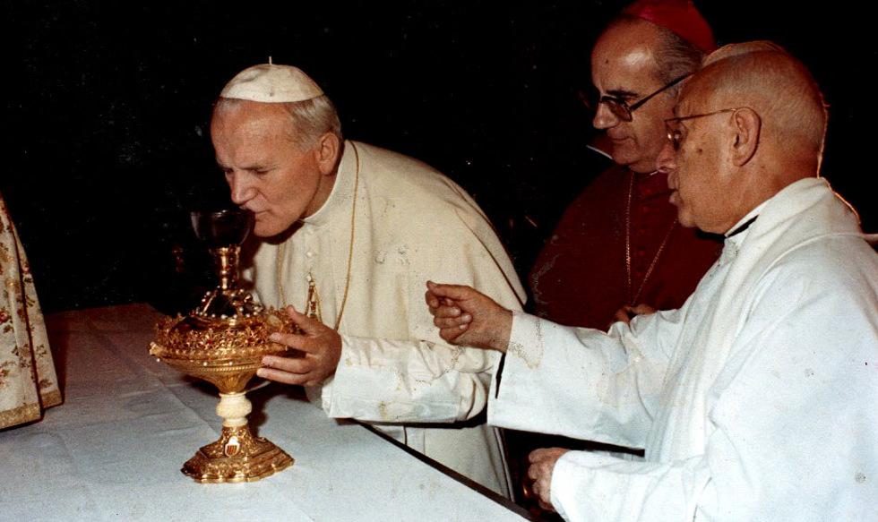 Imágenes de Juan Pablo II en la Catedral de Valencia ~ Catedral de Valencia